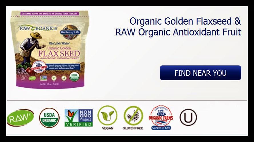 vegan giveaway ~ organic golden flaxseed & raw organic antioxidant fruit !!!