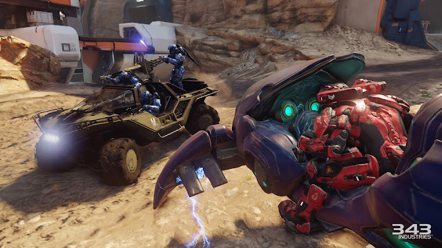 Halo 5: Guardians warthog ghost warzone