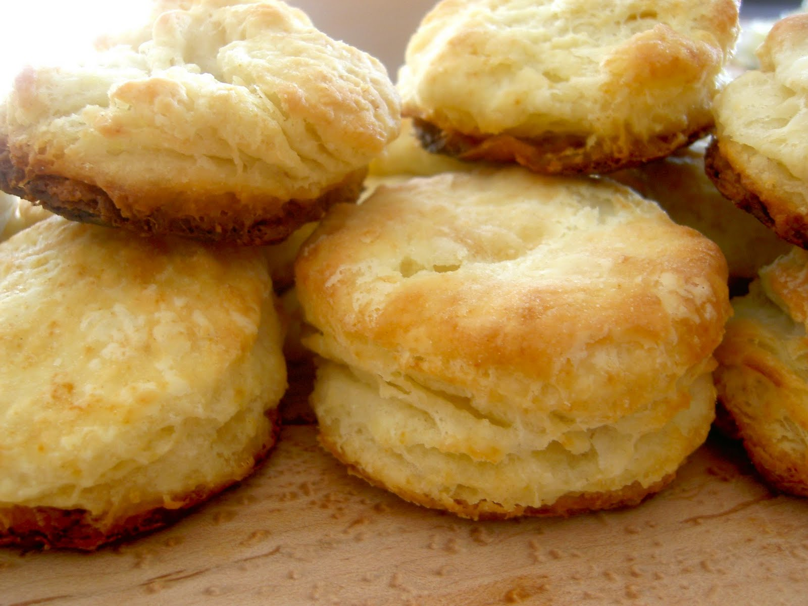 Le Carousel: Between the Lines; Flaky Buttermilk Biscuits