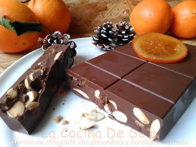Cocineros del mundo turr n de chocolate con almendras y - La cocina del 9 ...