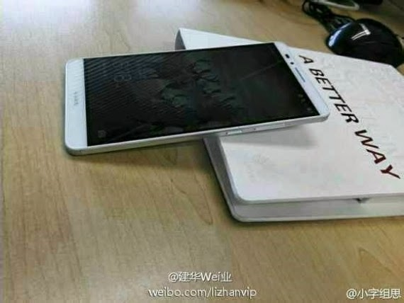 Huawei Ascend Mate 7, νέες φωτογραφίες με ελάχιστα bezels και fingerprint sensor
