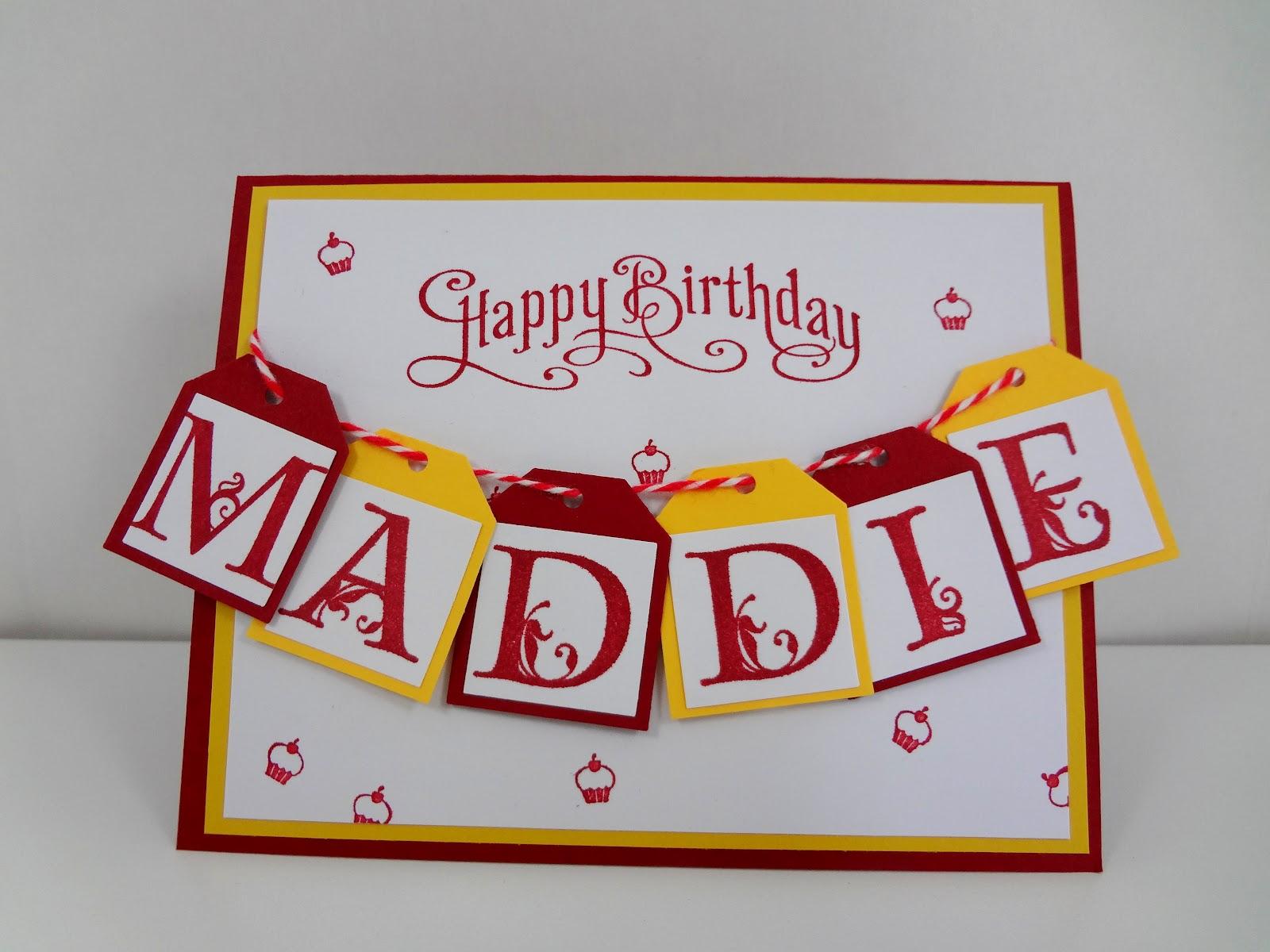 Happy Birthday Maddie Cake