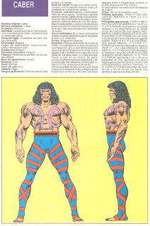 Caber (ficha marvel comics)