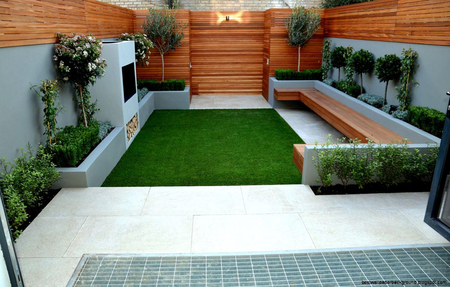 Small Garden Design On Small Gardens With Modern Small Garden 20
