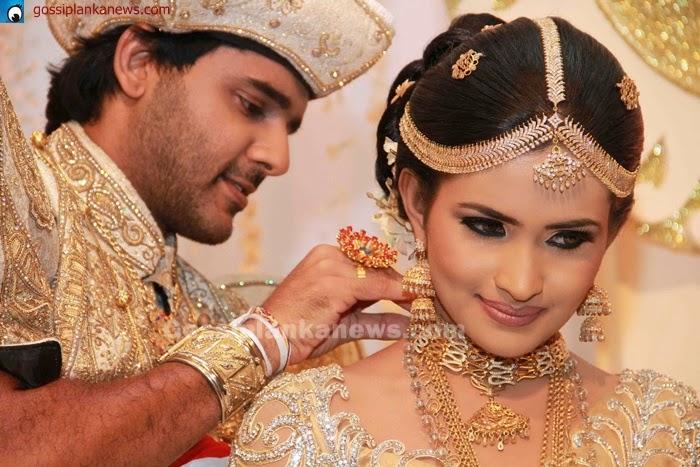 Saranga and pubudu wedding hairstyles