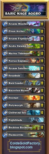 Play Hearthstone Beginner's Mage Deck Build
