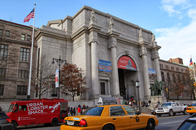 American Museum of Natural History was taken from opposite street of Central Park in New York, USA