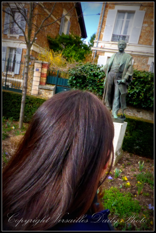 Ferdinand de Lesseps statue Versailles