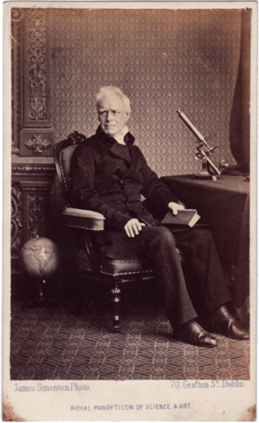 John Thomas Romney Robinson by James Simonton, c. 1850