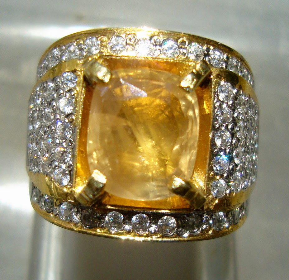 Batu Yellow Safir