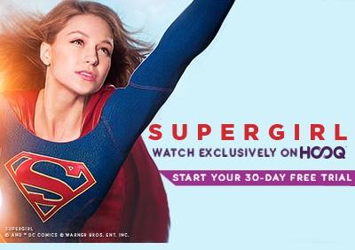 Introducing HOOQs newest superhero - Supergirl - Rochelle