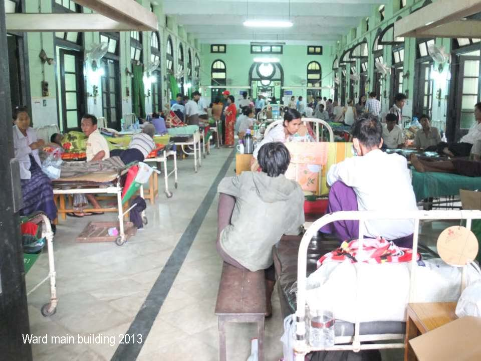 Typical urban hospital ward
