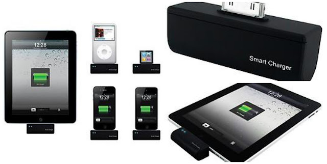 Carry the smart charger with you to charge up your gadgets | OrganizingMadeFun.com