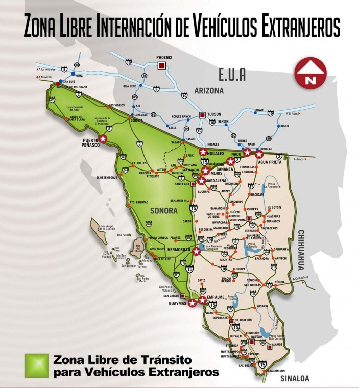 Tips secrets and advice for traveling mexico first time the need for a temporary vehicle import permit tvip has a familiar ring to it if you are traveling within baja california or baja california sur and will sciox Gallery