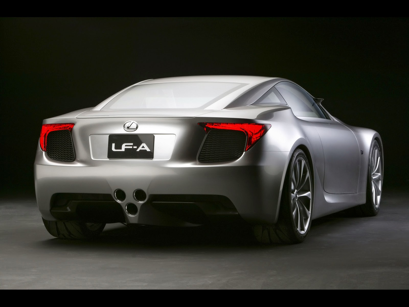 Lexus Lf A Sports Car Concept Rear Angle X