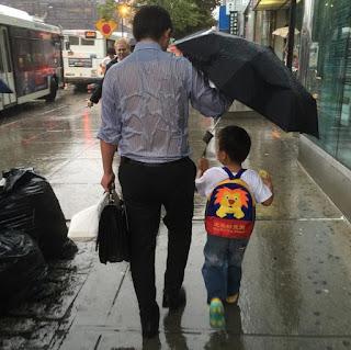 μπαμπάς ομπρέλα