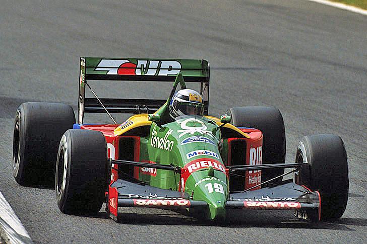 22 de octubre, 1989 / ALESSANDRO NANNINI GANABA SU UNICO GP DE F1 EN UNA CARRERA HISTORICA