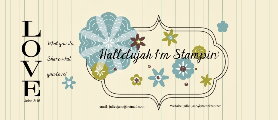 Hallelujah I'm Stampin'!