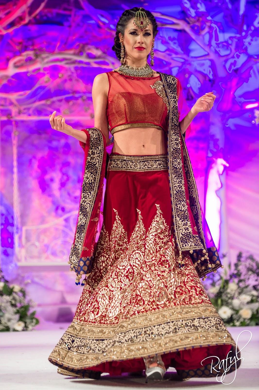 Asian Fashion Blog: Frontier Raas at the Asiana Bridal ...