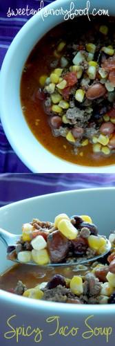 spicy taco soup (sweetandsavoryfood.com)