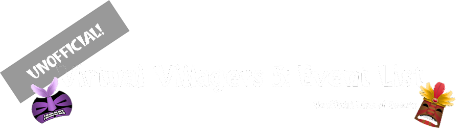 Virtual Villagers 5: Events List (Unofficial)
