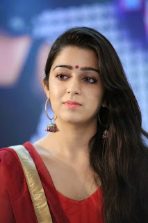 Actress Charmi Kaur Pictures in Red Salwar Kameez at Country Club Asia's Biggest New Year Bash 2014 Press Meet  0021.jpg