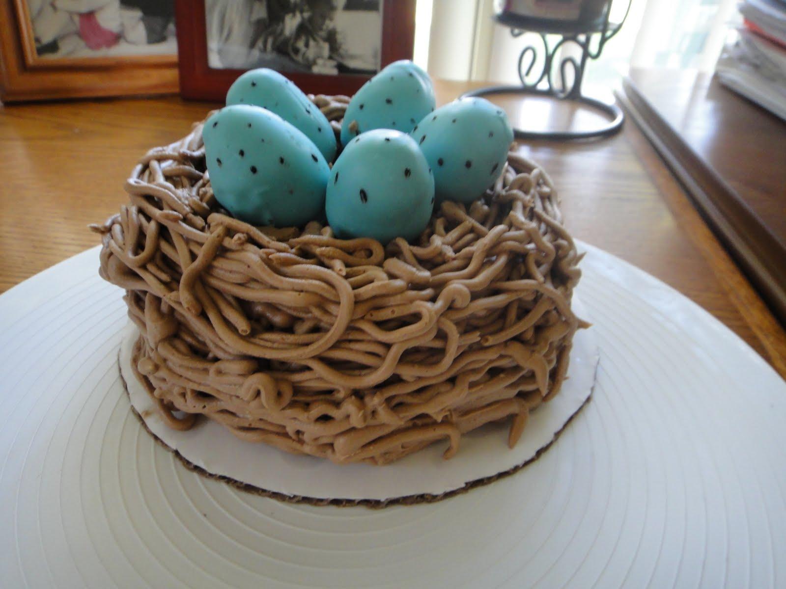 Kims Cakes and Crumbs: Birds Nest Cake