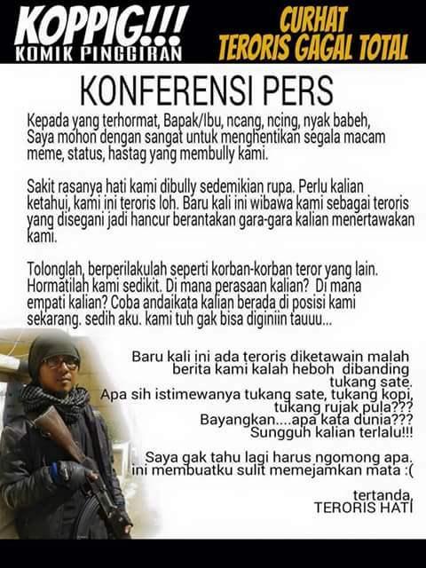 Surat Terbuka Buat Teroris