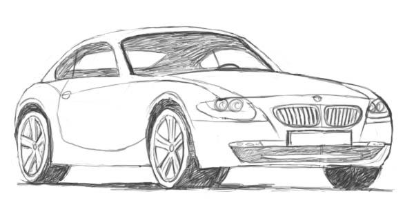 Corso di grafica e disegno per imparare a disegnare come - Auto cool alle pagine da colorare ...