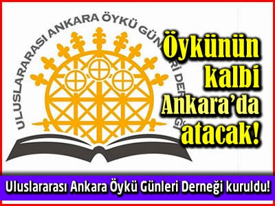 Uluslararası Ankara Öykü Günleri Derneği Logo