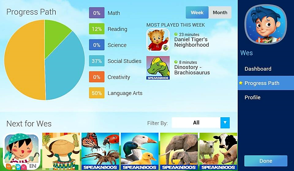 Samsung KidsTime Mobile App