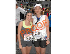 Me and Salome at my first marathon - LA 2009 - on my birthday!