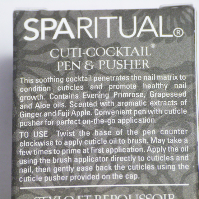 Lucy's Stash - SpaRitual Cuti-Coctail Pen & Pusher