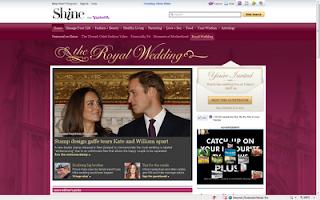 Prince William Wedding News: Yahoo! devotes websites to Prince William and Kate's Royal wedding