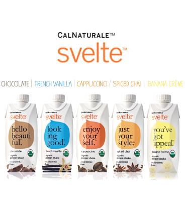 Svelte gluten free & USDA organic shakes
