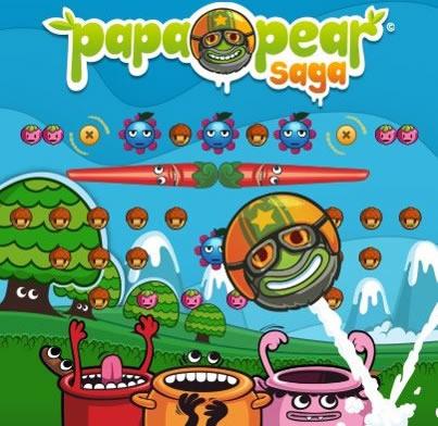 FB Game : Papa Pear Saga