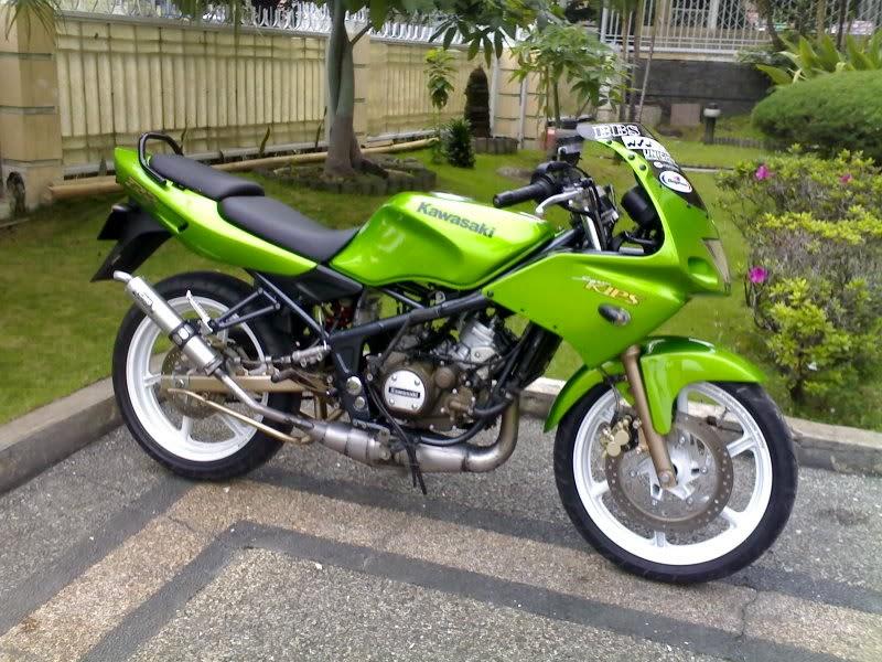 contoh modif motor ninja 2 tak