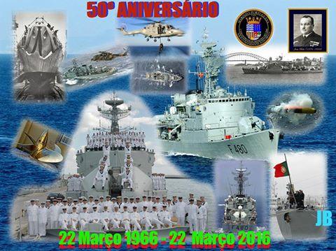 50º Aniversário do Lançamento à água da Fragata Cte João Belo-F480