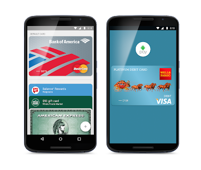 Google Android Pay now Launched in US