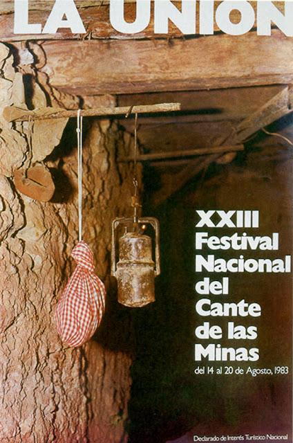 Cartel del Cante de las Minas de 1983