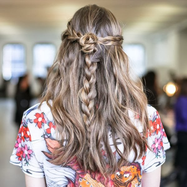 вернуться к статье. Мода. Модные косы (Фото 25 из 31). Модный look. Главная