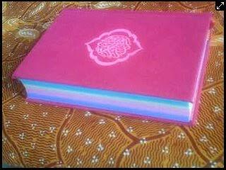 rainbow quran, Al-quran pelangi
