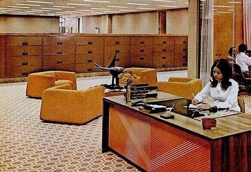 1970s Office