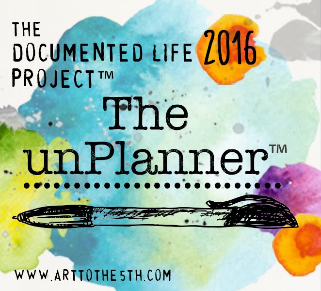 2016 Documented Life UnPlanner Project