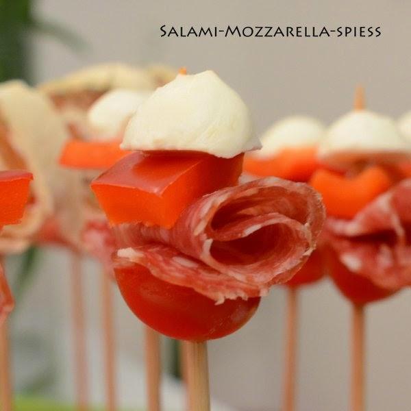 siebaecktgern catering 60ziger salami mozzarella spieß