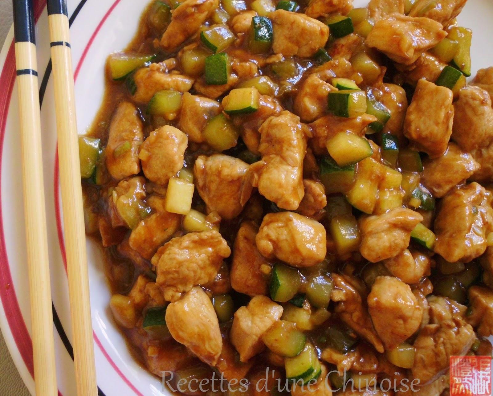 recettes d 39 une chinoise poulet saut la p te de soja ferment e huang jiang doenjang. Black Bedroom Furniture Sets. Home Design Ideas