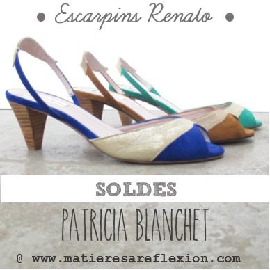 Escarpins Renato Patricia Blanchet