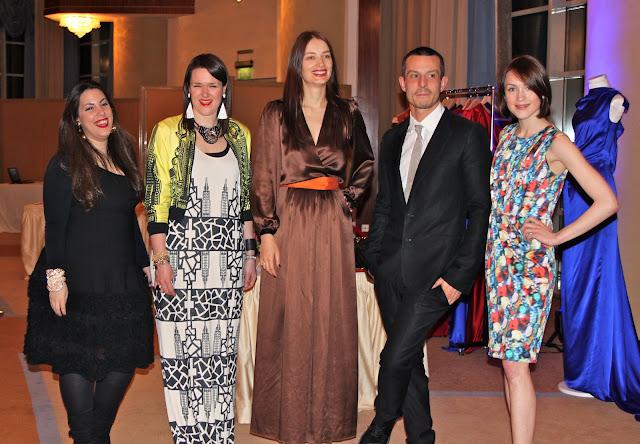 La Petite Anglaise Mary Katrantzou, Holly Fulton, Roksanda Ilincic, Jonathan Saunders