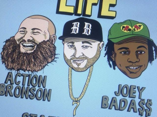 Vídeo - Statik Selektah – Beautiful Life (feat. Action Bronson & Joey Bada$$)