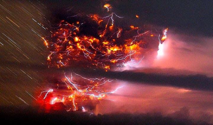 lightning, chile